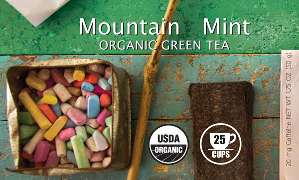 Mountain Mint Organic Green Tea - BTJ