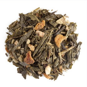 Orange Ginseng Ginger Organic Green Tea
