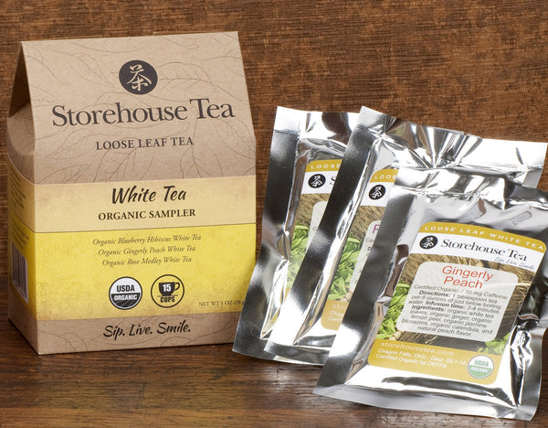 White Tea Sampler Pack
