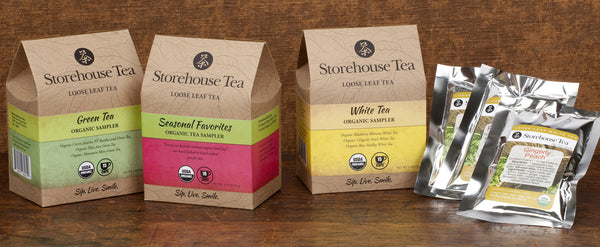Seasonal Favorites Tea Sampler Packs: Fall Teas