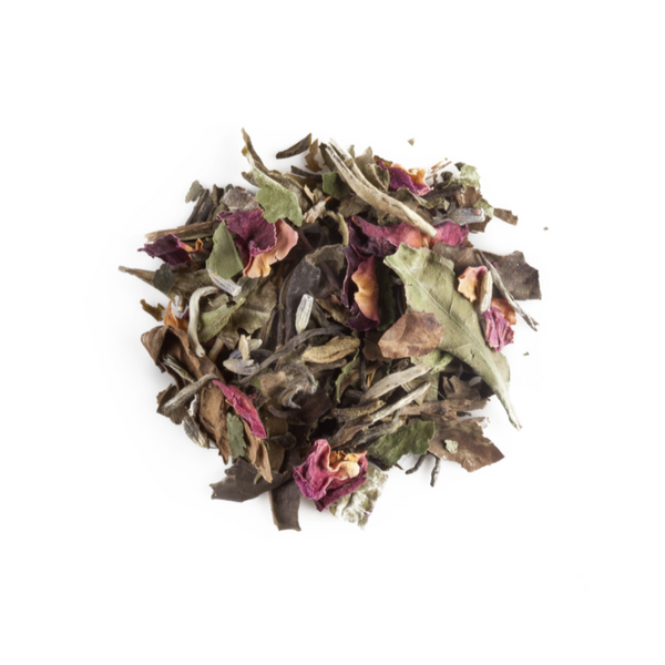 Rose Medley, Organic White and Green Tea
