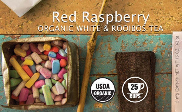Red Raspberry Organic White & Rooibos Tea - BTJ