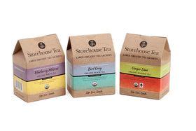 Storehouse Favorites: Loose Leaf Teas or Sachets