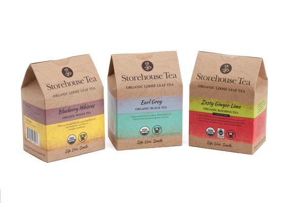 Storehouse Favorites, Teas and Sachets