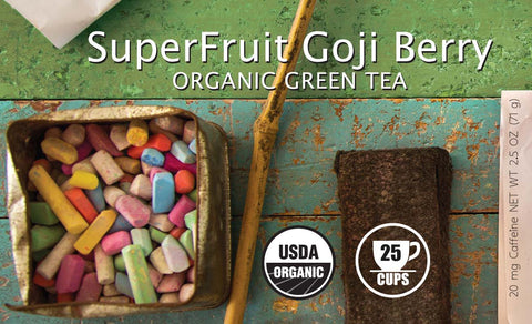 SuperFruit Goji Berry Organic Green Tea - BTJ