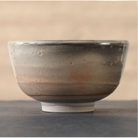 Peach Spring Hand Crafted Matcha Bowl