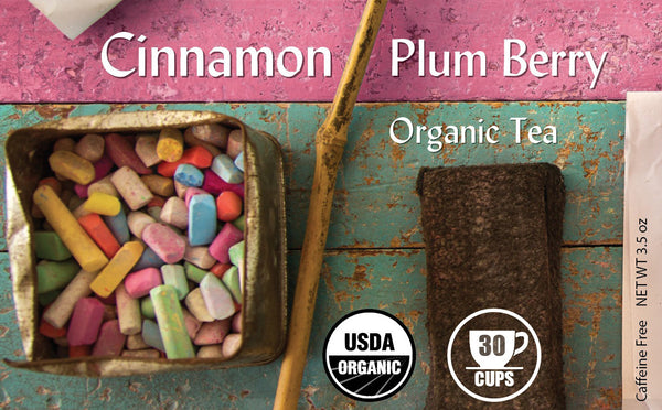 Cinnamon Plum Berry Organic Botanical Blend - BTJ