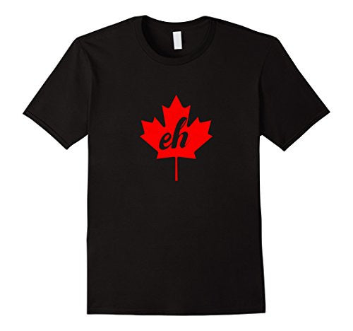 Red Maple Leaf Canada T Shirt Vintage Distressed Look - UGR Collection