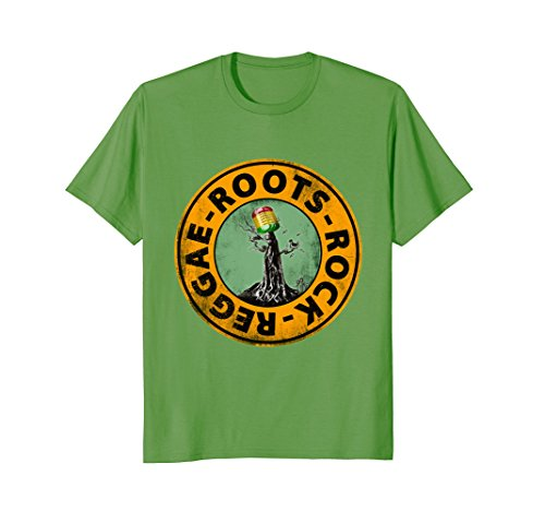 THE ROOTS OF REGGAE - rock and roll - music tree T-shirt - UGR Collection
