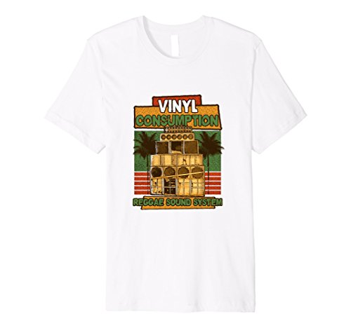 Vinyl Consumption Reggae Sound System Graphic Tee - UGR Collection
