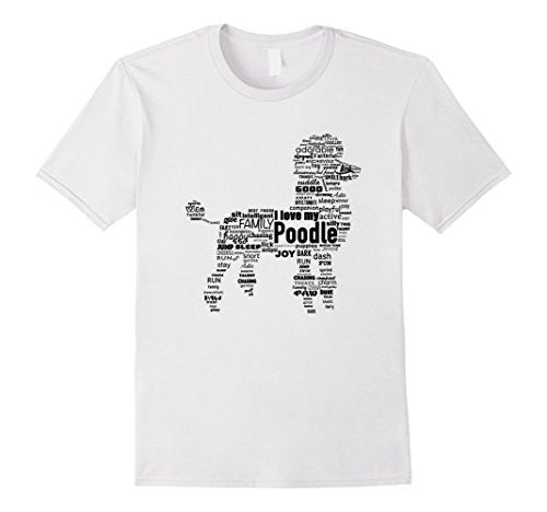 I Love My Poodle T-Shirt Unisex - UGR Collection