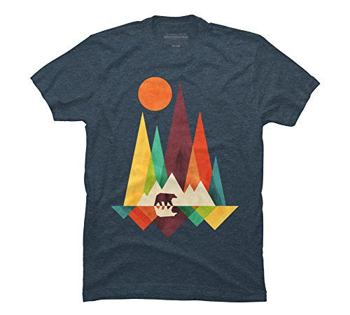 Mountain Bear Men's Graphic T Shirt - Design By Humans