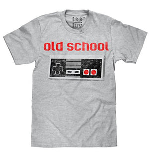 Old School Video Game Novelty T-Shirt | Soft Touch Fabric - UGR Collection