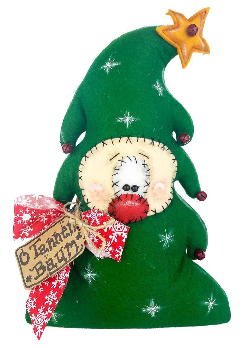 Primitive Elf Tree On The Wall Charm