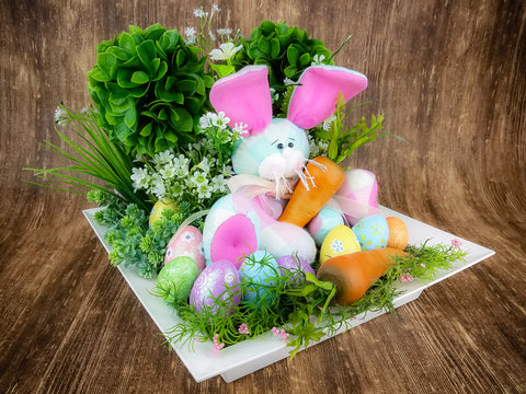 Cottontail Easter Centerpiece