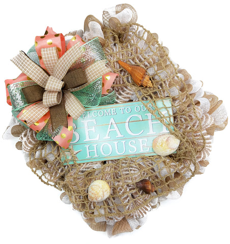 Beach House Wreath