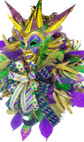 Mardi Gras XL Wreath