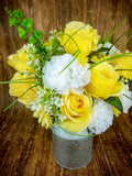 Farmhouse Rose Floral Centerpiece