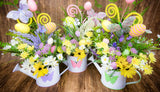 Easter Watering Can Centerpiece