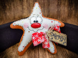 Faux Primitive Cookies (Star, Tree, Candy Cane, Heart)
