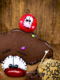 Cupcake Primitive Decor