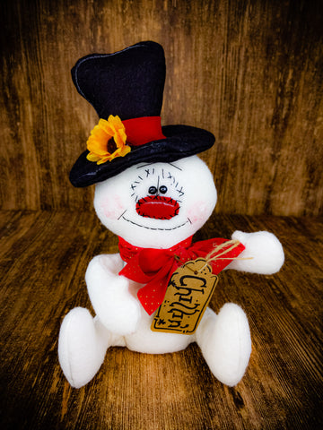 Primitive Chillin Snowman