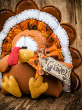 Primitive Turkey Attachment/Decor