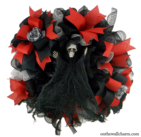 Don't Fear the Reaper Halloween Wreath