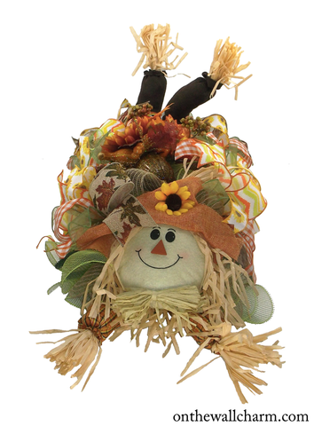 Charming Relaxed Scarecrow Centerpiece