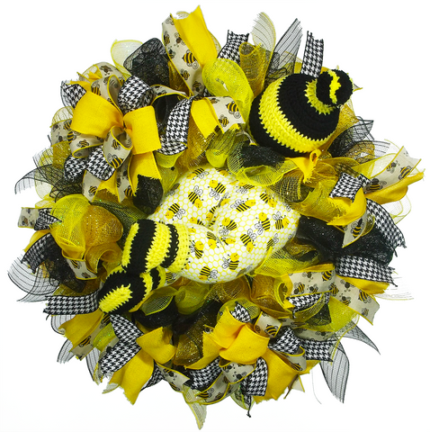 Bumble Bee Baby Wreath