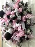 Bubble Baby Bottom Girl Wreath