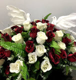 Dove Rose Centerpiece