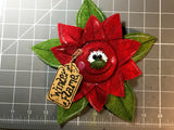 Poinsettia Primitive Decor