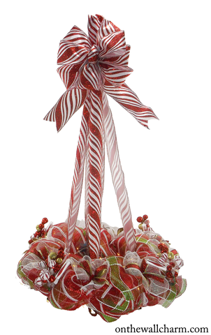 Peppermint Christmas Chandelier