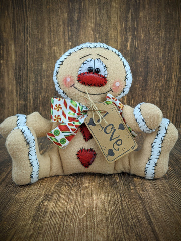 Gingerbread Man Tabletop Decor