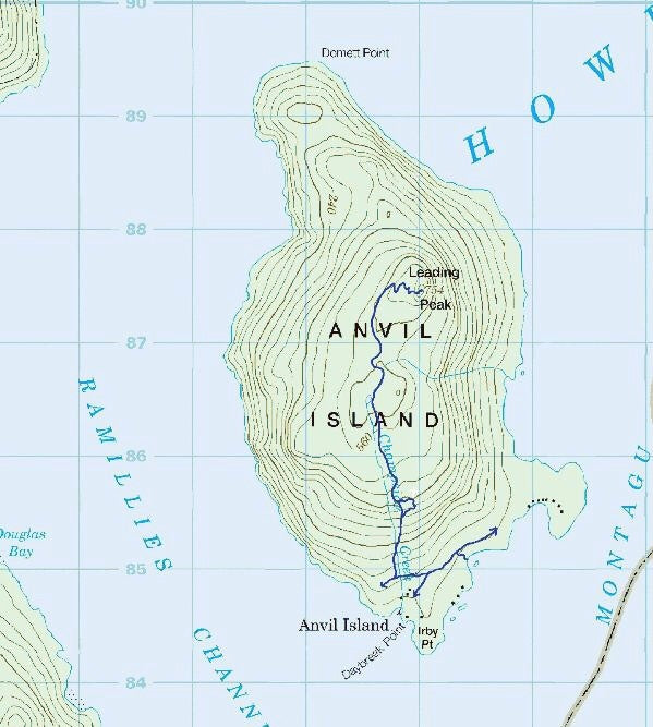Places: Anvil Island