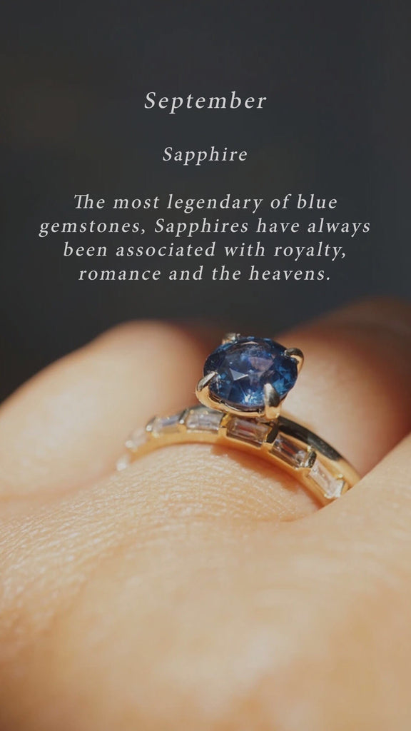 Birthstone of the Month | Sapphire
