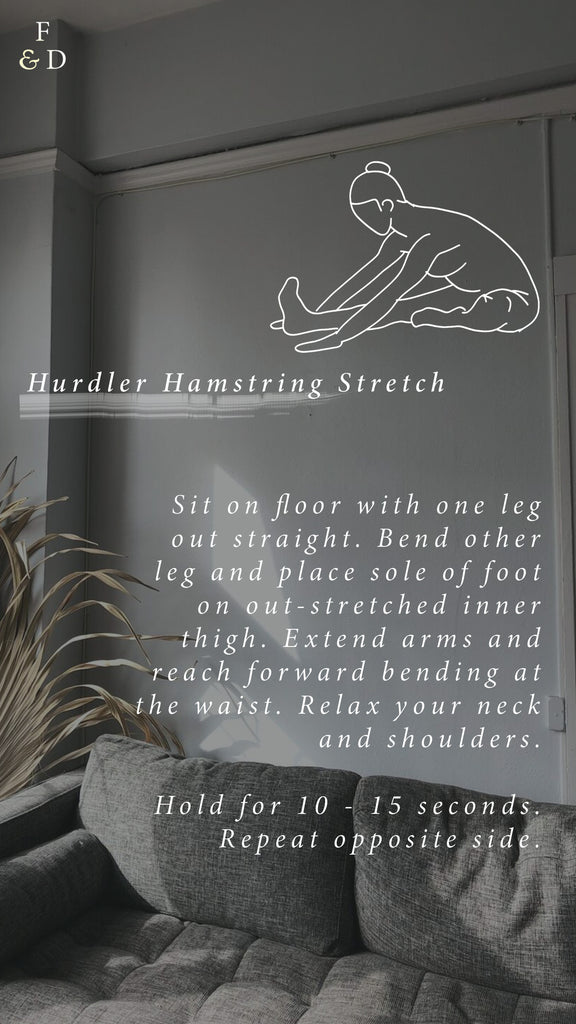 WFH Stretching | Lower Body