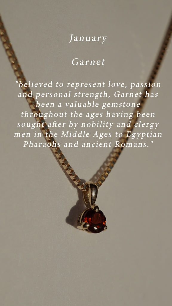Birthstone Of The Month | Garnet