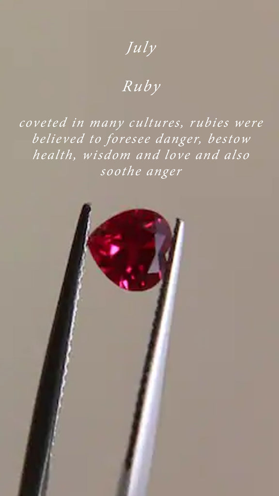 Birthstone of the Month | Ruby