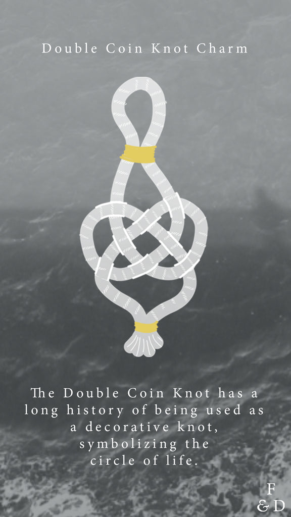 Knot Tying | Double Coin Knot Charm