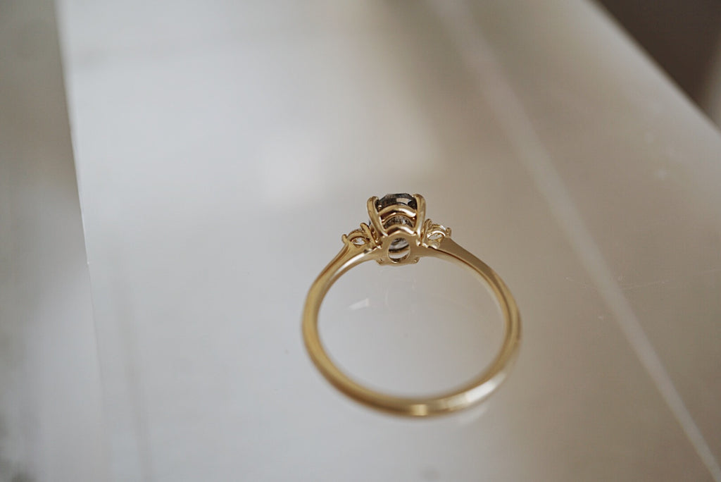 1.13ct Oval Companions Ring *ready-to-ship *SOLD