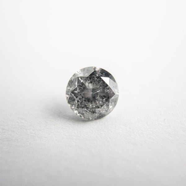 Salt and Pepper Brilliant Diamond - 0.65ct Round
