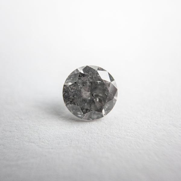 Salt and Pepper Brilliant Diamond - 0.69ct Round