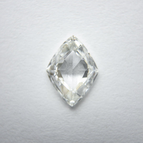 White Brilliant Diamond - 1.05ct Lozenge