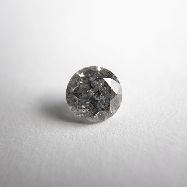 Salt and Pepper Brilliant Diamond - 0.78ct Round