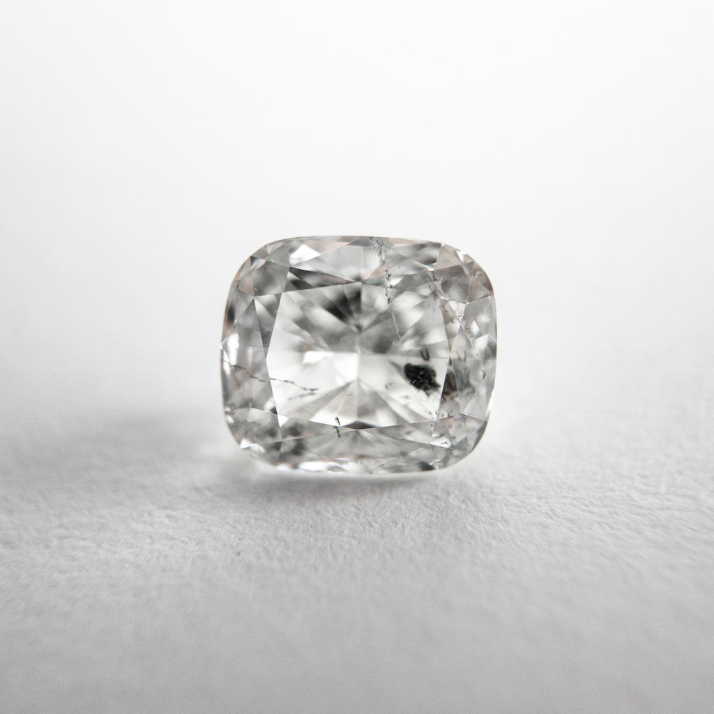 Salt and Pepper Brilliant Diamond - 1.03ct Cushion
