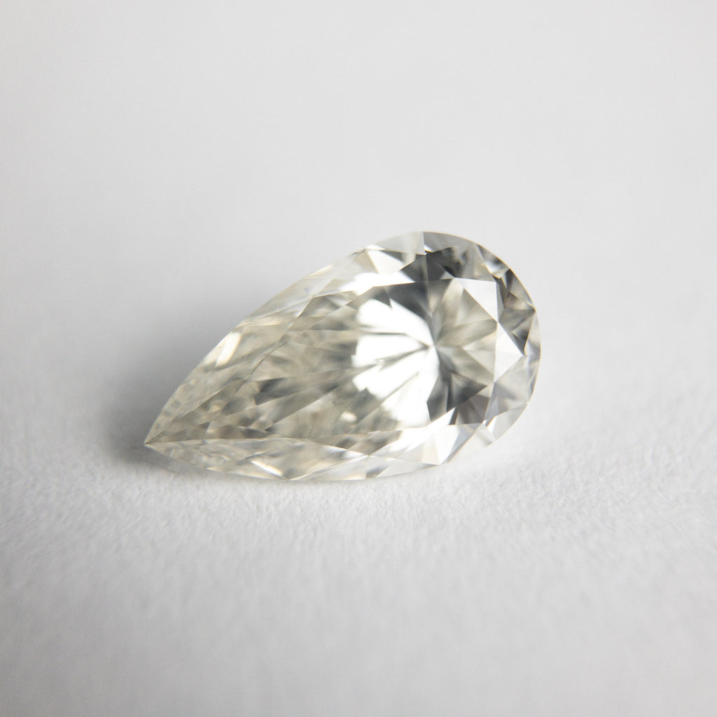 Champagne Brilliant Diamond - 1.00ct Pear