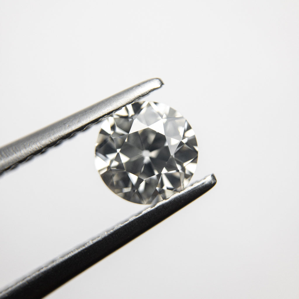 Antique Old European Cut Diamond - 0.77ct Round