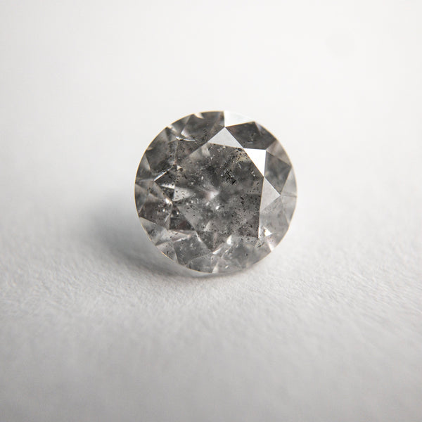 Salt and Pepper Brilliant Diamond - 1.53ct Round